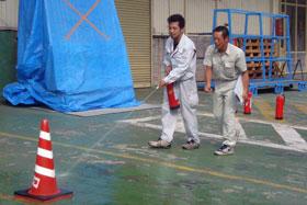 株式会社マエダ  2010年度防災訓練 03
