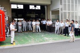 株式会社マエダ  2012年度防災訓練 02