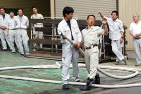 株式会社マエダ  2013年度防災訓練 02