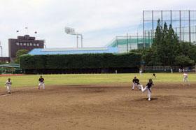 株式会社マエダ  第46回東デ協親善野球大会 一回戦 02