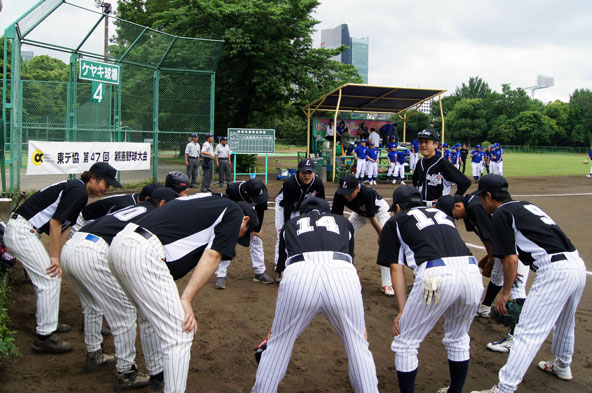 株式会社マエダ  第47回東デ協親善野球大会 一回戦 01
