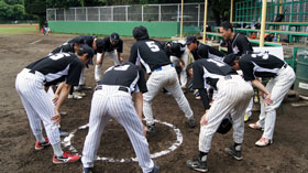 株式会社マエダ  第48回東デ協親善野球大会 一回戦 05