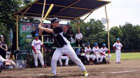 株式会社マエダ  第49回東デ協親善野球大会 一回戦 05