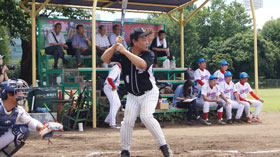株式会社マエダ  第49回東デ協親善野球大会 一回戦 06