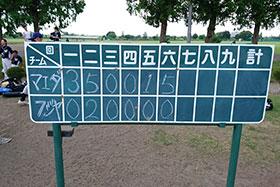 株式会社マエダ  第50回東デ協親善野球大会 一回戦 15