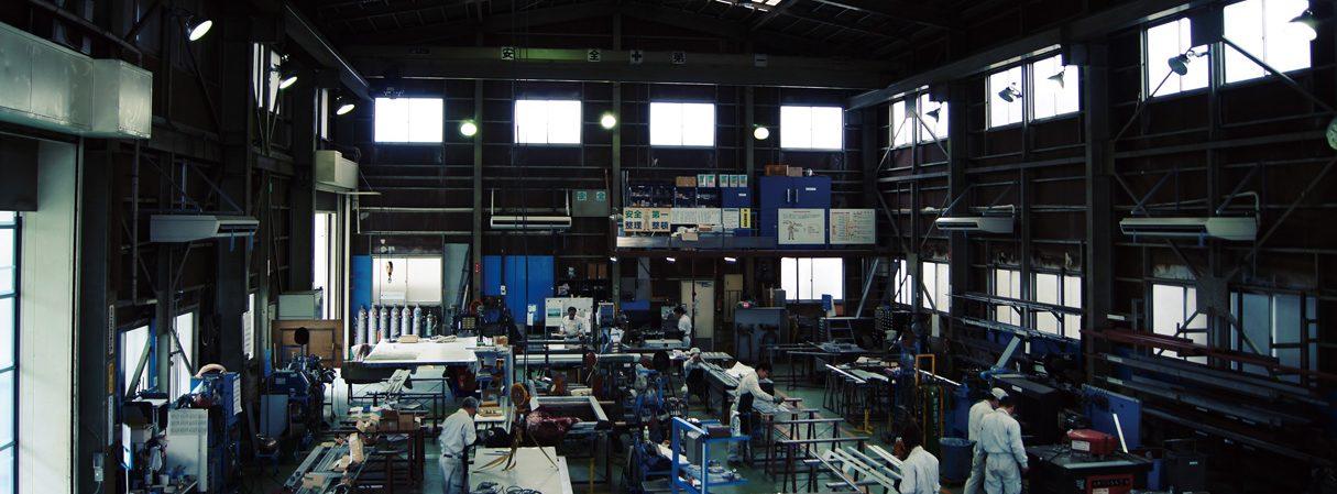 株式会社マエダ 第三工場内部